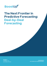 Deal by Deal Forecasting from BoostUp