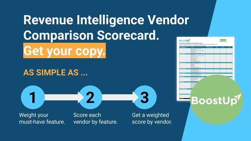 BoostUp's-Revenue-Intelligence-Vendor-Comparison-Scorecard