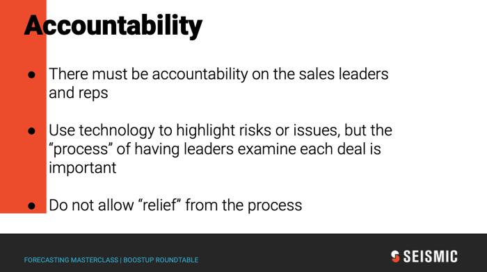 Seismic Accountability